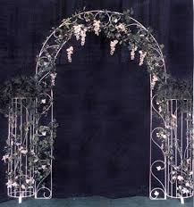 Wedding Arches Inside Wedding Garden Arches White Iron Arches Country Creations Rental
