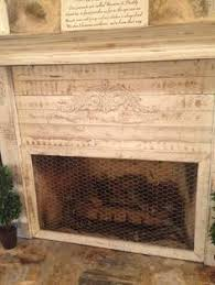 turn a garden gate into a cool fireplace screen with or without