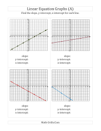 finding slope from a graph worksheet answers 28 templates