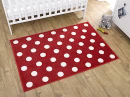 Polka Dot Kids Rug by Rugs Mats Kit For Kids Red White Polka Dot Rug For Bedroom