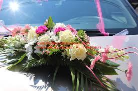Deco Mariage Voiture by Fleurs Voiture Mariage Fleurs Au Fil Des Fleurs 51340