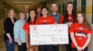 annie jr u0027 actors raise funds for boston casa to benefit foster