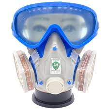 Face Paint Spray - silicone respirator gas mask pesticide pintura full face carbon