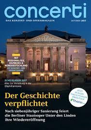 Moderne G Stige K Hen Concerti Ausgabe Berlin Juni 2014 By Concerti Das Konzert Und