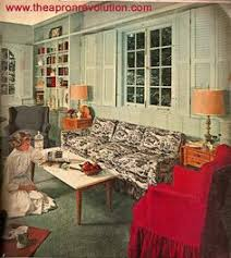 living room mid century decor 1950s house interior design