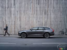 volvo trucks for sale in canada volvo v90 v90 cross country pricing announced for canada car