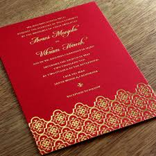 contemporary indian wedding invitations modern indian wedding invitations card design ideas