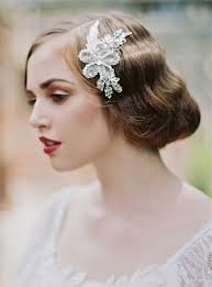 hair accessories for brides 1920 s inspired bridal hair accessories junebug weddings