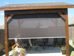 Outdoor Rolling Blinds Blinds Terrific Outdoor Blinds Home Depot Outdoor Sun Shades