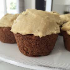 gluten free carrot cake muffins with cashew
