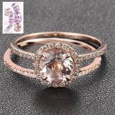 morganite engagement ring gold custom morganite engagement rings wedding rings logr lord of
