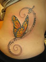 meanings of closed wing butterfly tattoos cool tattoos