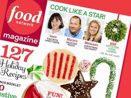 food network magazine december 2011 recipe index recipes and