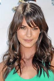 old fashioned layered hairstyles effortless and elegant long layered haircuts with bangs wispy
