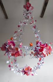 Paper Craft Ideas For Room Decoration Step By Step Best 25 Paper Chandelier Ideas On Pinterest Paper Mobile Paint
