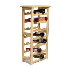 212 main 28 bottle decorative natural wood wine rack m00126 the