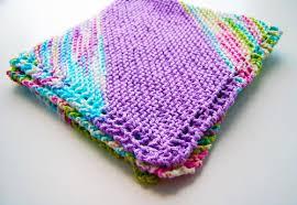 knitting pattern quick baby blanket bias quick knit baby blanket allfreeknitting com
