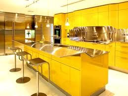 delightful yellow kitchen design ideas featuring rectangle shape