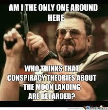 Memes Landing - moon landing conspiracy theories by optimus2 meme center