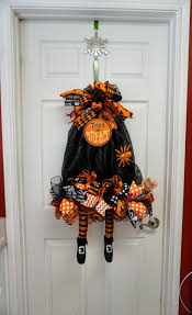 witch wreath witch swag halloween wreath halloween door witch