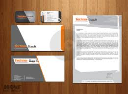 vector business card envelope and letterhead pack