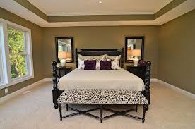 cheetah bedding in bedroom traditional with cove ceiling next to