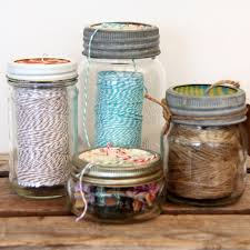 fair design of mason jar uses made of visible glass material in