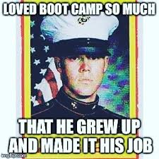 Birthday Workout Meme - trainer scott as a young marine happy birthday marines marines