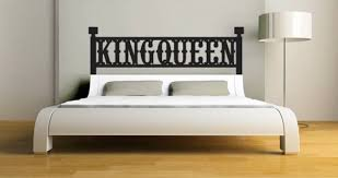 King Headboard by King Headboard Wall Decal Dezign With A Z