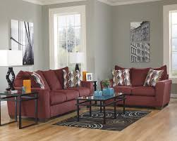 Livingroom Set Brogain Burgundy Living Room Set 26901 Living Room Groups