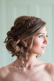 coiffure mariage boheme coiffure de mariage 2017 le chignon tressé la coiffure bohème