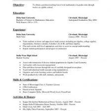 Microbiologist Resume Sample Cover Letter Private Tutor Resume Private Home Tutor Resume