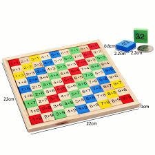 free shipping children 1 9 multiplication table mathematics teaching aids kids wooden building blocks toy one jpg