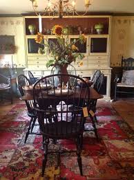 Primitive Dining Room Tables 90 Best Colonial Interiors Images On Pinterest Primitive Decor