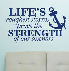 quotes about strength winnie the pooh vinyl wall lettering life u0027s rough storms strength by wallsthattalk