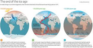Map Of Ocean Currents The Causes Of The End Of The Last Ice Age