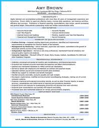 General Ledger Accountant Resume Sample by Awesome Sample For Writing An Accounting Resume Resume Template