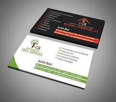 Business Cards For Tree Service Elegant Playful Business Card Design For Justin Boor By Riz