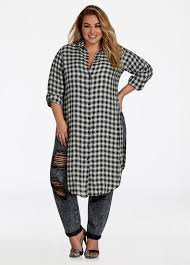 buy womens plus size plaid shirts ashley stewart