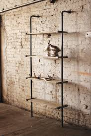 Modern Wall Units For Books Industrial Aesthetic Meets Modern Design With This Wood And Metal