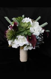 artificial wedding bouquets succulent wedding bouquet collection detail wedding design