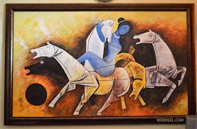 Image Gallery Controversial Paintings - 30 controversial mf hussain paintings most famous indian artist
