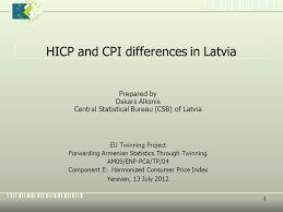 central statistical bureau 1 hicp and cpi differences in latvia prepared by oskars alksnis