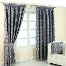Blue Grey Curtains Pencil Pleat Fully Lined Ready Made Jacquard Curtains Blue Gold