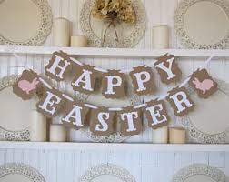 happy easter decorations easter decorations etsy