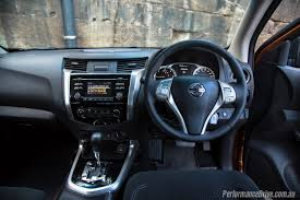 nissan frontier 2016 interior 2016 nissan navara st king cab 2 3dtt review video