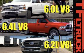 dodge ram vs f250 which heavy duty gas v8 is the best for towing ford 6 2l vs gm