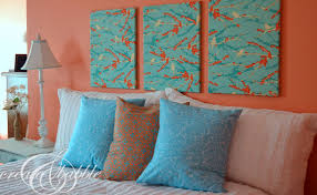 quick and easy temporary headboard create and babble