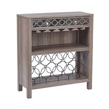 Osp Designs Sofa Table With Wine Storage
