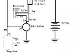 mitsubishi alternator wiring diagram wiring diagram